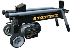 Electric Log Splitter 6 Ton Firewood Home Outdoor Tree Wood Fireplace Portable