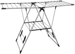 Drying Center X Large Stainless Steel Indoor Outdoor Freestanding with Bar Shelf $65.23