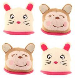 New Kids Novelty Animals Fleece Insulated Beanie Winter Warm Comfy Hats by Jiglz $9.39