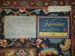 Karastan 100% Wool Ispahan Rug 6' by 9' (BARELY USED - Woven in the USA)