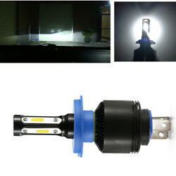 2x Car H4 8000LM 72W White High Power COB LED Headlight Headlamp Light Bulb Kit