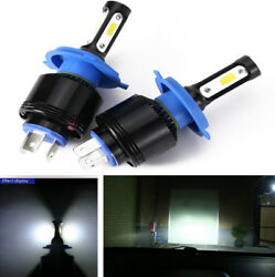 2x H4 8000LM 72W LED 6500K Auto Car Headlights Kit Driving Light Lamp Waterproof