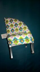 2005 Mattel Doll house stuffed corner chair 6quot; high for large house clean $3.79