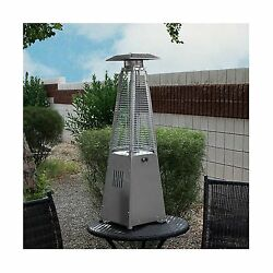 Tabletop Gas Patio Heater Finish: Stainless Steel