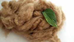 Baby Camel Wool Fiber Fibre 19 Micron Carded Roving Spinnig Felt FREE SHIPPING