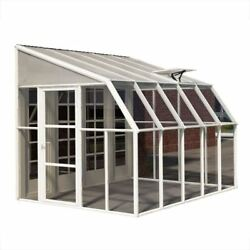 Greenhouses Sun Room 8x10 Ft. Acrylic Clear Twin-Wall Polycarbonate Roof Panels