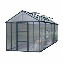 Greenhouse Twin-Wall 8x20 Light Diffusing Polycarbonate Panels Closed Gutters