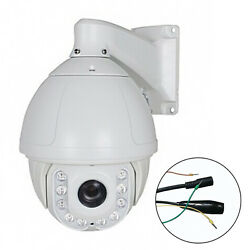 AHD PTZ High Speed Dome Security Camera 33X Optical Zoom 2.0 MP 1080P IR Outdoor