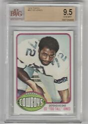 1976 TOPPS ED TOO TALL JONES RC BVG 9.5 GEM MINT ROOKIE POP 4 HOF