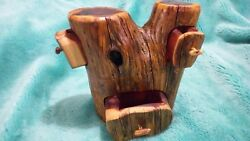 Cedar Log Jewelry Trinket Boxes Rustic CabinHome Decor
