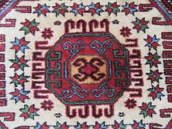 LARGE ANTIQUE CAUCASIAN ARMENIAN RUG CIRCA 1940S   BEEN HAND WASHED READY USE