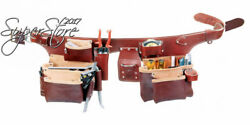 Occidental Leather 5191 XL Pro Carpenter's 5 Bag Tool Belt Assembly X-Large