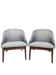Pair of Mid Century Kodawood Bentwood Lounge Chairs by S.J. Weiner