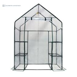 Portable Mini Greenhouse Walk-In Moisture Humidity Control Pests Wind Protection
