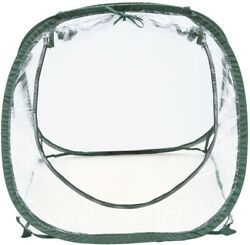 Greenhouse 2.5 ft. x 2.5 ft. x 2-16 ft. Pop-Up Portable Clear Seed Starter