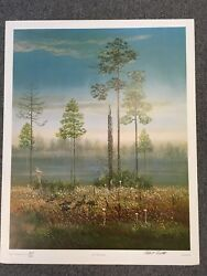 Signed Print Highwaymen Robert Butler -