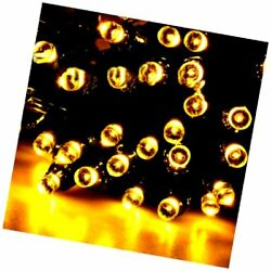 Sogrand Solar Fairy String Lights Outdoor 200 Warm White LED Garden Decora..