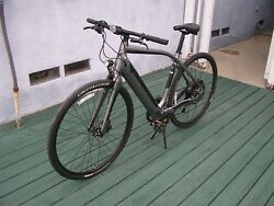 2015 Specialized Turbo eBike Electric Assist Bicycle LARGE Hybrid OD 318 Miles