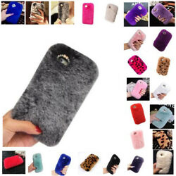 87 Plus Cover Leopard Furry For Apple iPhone 87 Plus Accessories Lot Bulk