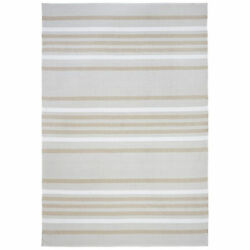 Liora Manne Plaza Stripe IndoorOutdoor Rug Natural 7'6