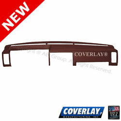 Maroon Dash Board Cover 10 725 MR For D21 Pickup Hard Body Front Upper Coverlay $188.62