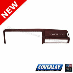 Maroon Dash Board Cover 22 155 MR For Dakota Front Upper Coverlay $194.32