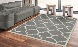 Large Morrocan Rug Trellis 5x7 Indoor Outdoor Carpeting Area Best Clearance NEW