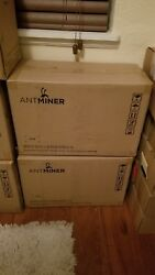 New unopened AntMiner L3+ ASIC Litecoin Miner 504 Mhs+ with Power Supply!