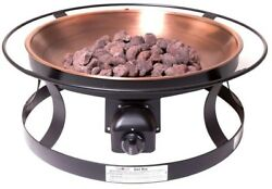 Camp Chef Propane Gas Fire Pit Firepit Portable Decorative Bowl Outdoor Heating
