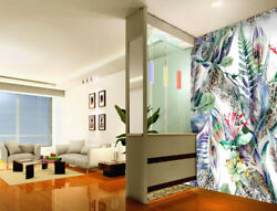 3D Plant Leaf Feather 6 Wall Paper Wall Print Decal Wall Deco Indoor Wall Murals
