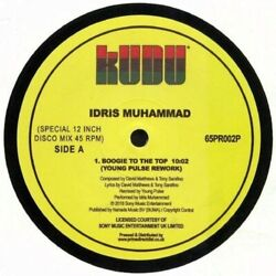 IDRIS MUHAMMAD Boogie To The Top 12