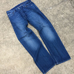 Distressed Vintage Style Worn Ralph Lauren Polo Denim Jeans Pants WWII Military