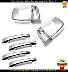 For 2002-2009 Dodge Ram 1500/2500/3500 Chrome Mirror Covers+4DR Handle Covers  $46.99