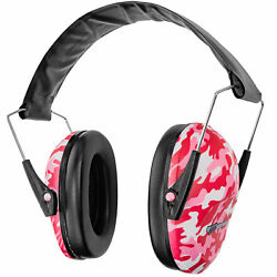 Boomstick Pink Camo Ear Muff Safety Hearing Noise Protection Gun Shooting Range $11.24