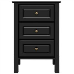 Nightstand Bedside End Table Bedroom Side Stand Accent Modern Storage Drawers $79.99