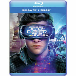 Ready Player One 3D New Blu ray 3D With Blu Ray 2 Pack $27.28