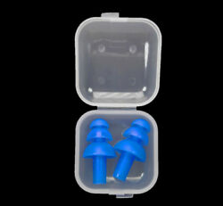 7 Color Silicone Ear Plugs Ear Muffs Anti Noise Snore Diving Swimming Earplugs
