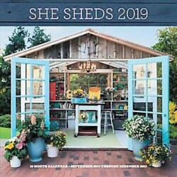 SHE SHEDS 2019 CALENDAR - KOTITE ERIKA - NEW BOOK