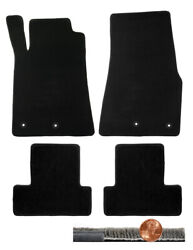 Lloyd Mats 2013 2014 Ford Mustang Black 4pc Ultimat Front amp; Rear Floor Set $138.90