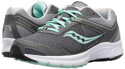 Saucony GRID COHESION 10 Womens Grey Mint S15333 3 Lace Up Running Shoes $44.99