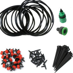 Irrigation Watering FOR Greenhouse Garden Terrace Home Micro Drip System Kit