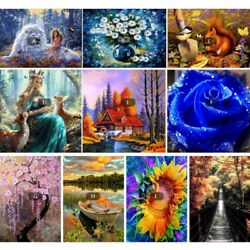 5D Diamond Embroidery Painting Cross Stitch Kit Craft DIY Wall Home Decor Gift