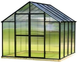 Monticello Greenhouse 4 x 6 Commercial Additional Door Kit Black Outdoor New