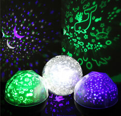 Projector Night Light LED Star Master Sky Lamp Romantic Cosmos Rotating Gift CA $11.99