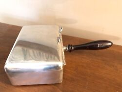 Antique VTG Wilcox Co. Butler Crumb Catcher Ash Tray polished silver plate N230