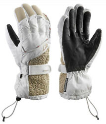 Leki Ski gloves Gore Tex Canny S women#x27;s LEKI Trigger S Gloves White sand New $24.00