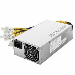 Antminer Power Supply APW3++ for S9 or L3+ or D3 w 10 Connectors FAST SHIP