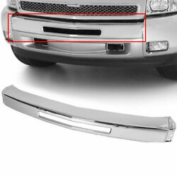 NEW Chrome Steel Front Bumper Impact Face Bar for 2007 2013 Chevy Silverado 1500 $79.95