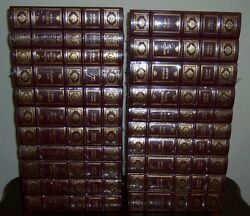 Easton Press COMPLETE WORKS OF CHARLES DICKENS in 21 vols