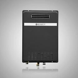 Marey GA30ONG  GA30OLP tankless Water Heater Outdoor Unit 199.000 BTU Black